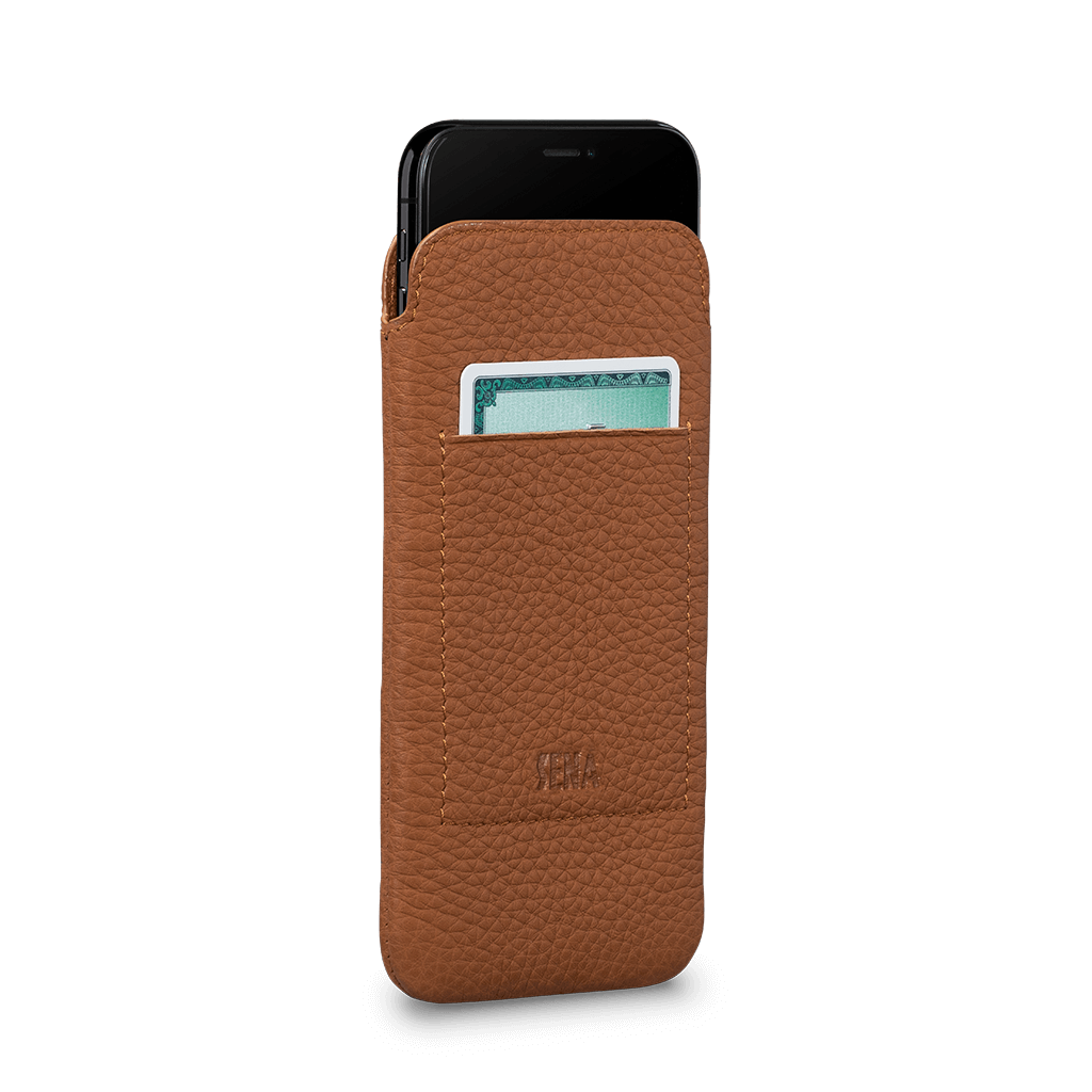 Ultraslim Wallet Case for iPhone 11 Pro (Tan)