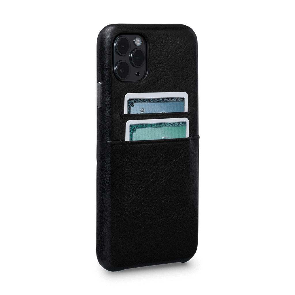 Snap On Wallet  Case for iPhone 11 Pro Max (Black)