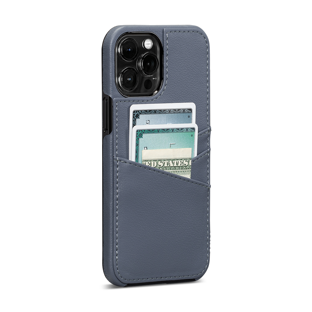 Lugano Wallet For iPhone 12 Pro Max (Lavender)