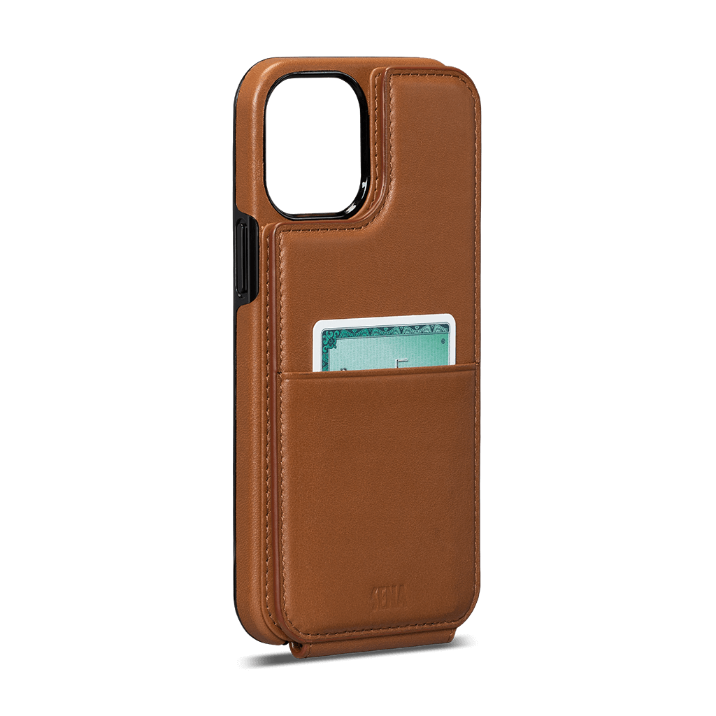 Walletskin For iPhone 12 Mini (Toffee)