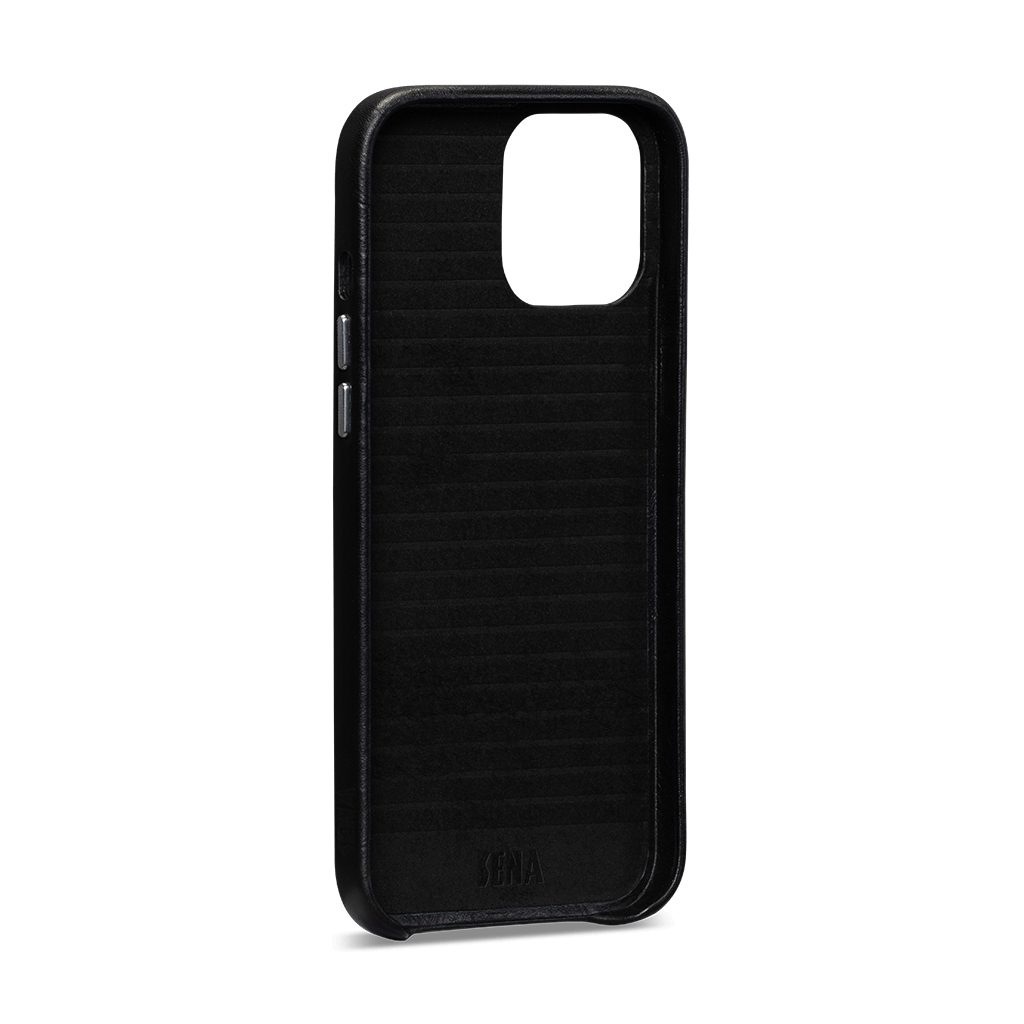 Leatherskin For iPhone 12 / 12 Pro (Black)