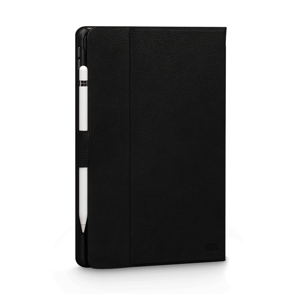 Vettra 360 Leather Folio Case for iPad Pro 10.5 in. (2017) and iPad Air 3 10.5 in. (2019) (Black)