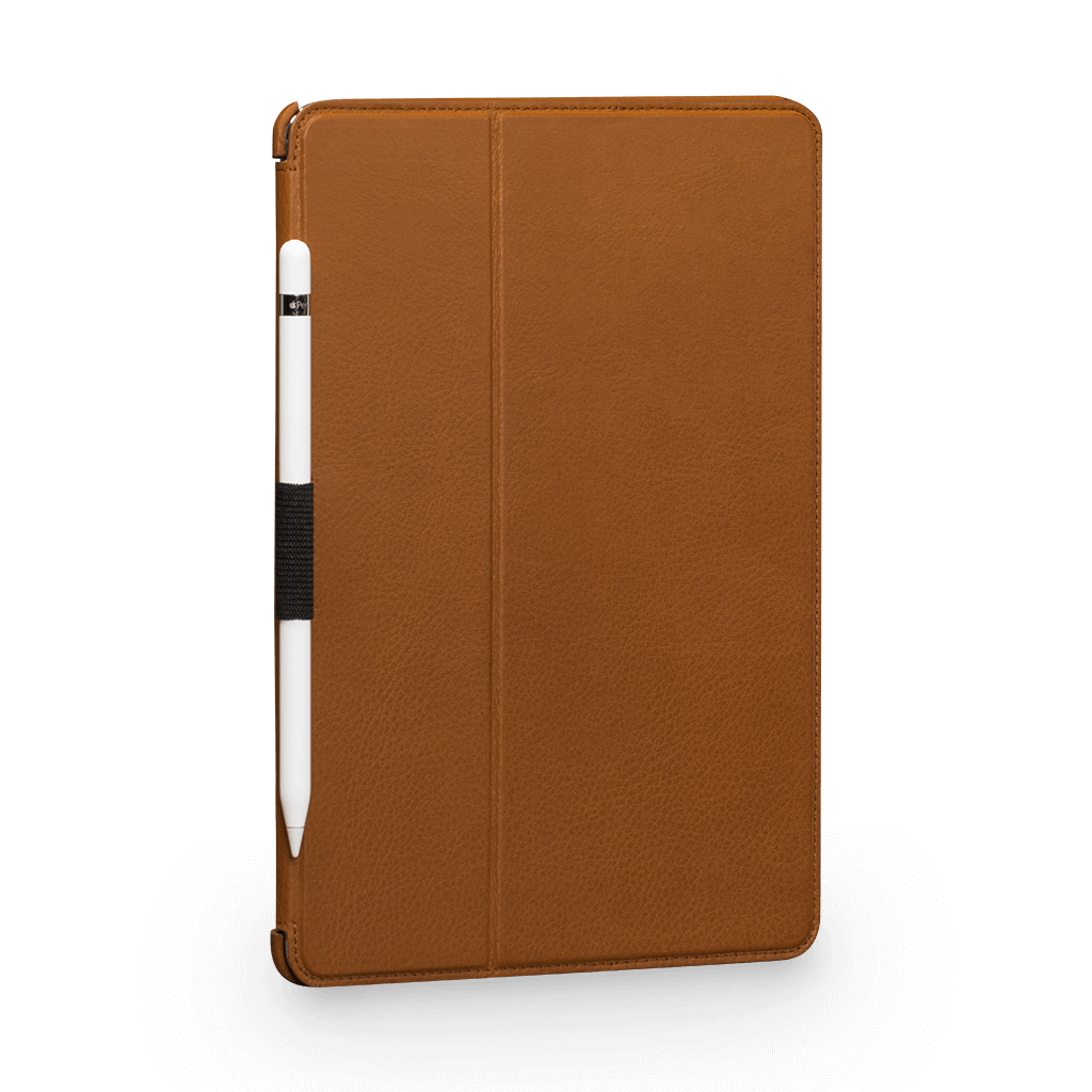 "Future Folio Leather Case for iPad Air 3 (2019) and Pro 10.5"" (2017) (Tan)"