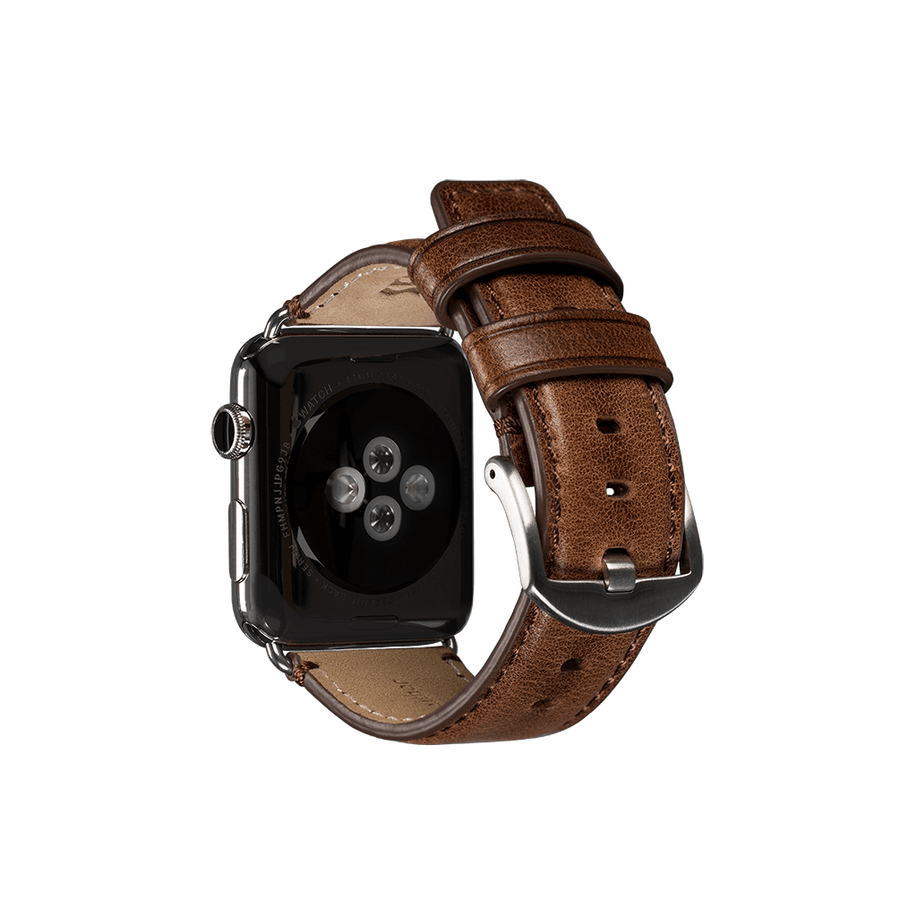Heritage Leather Watch Band for Apple Watch 42mm / 44mm (Heritage Cognac)