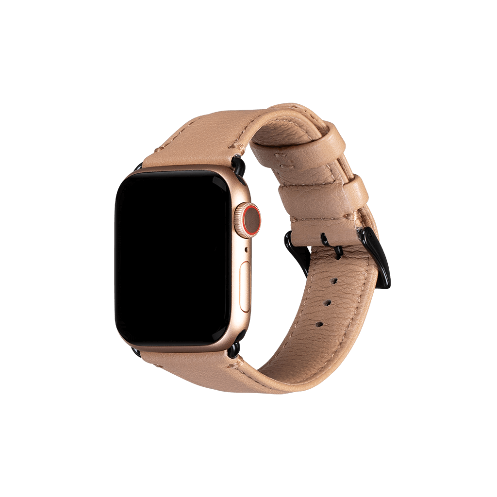 Leather 38mm/40mm Apple Watch Band (Desert)