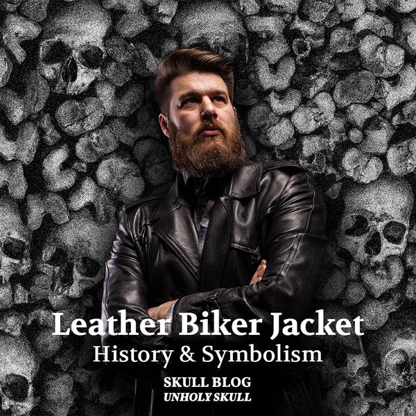Leather Biker Jacket : The History and Symbolism