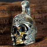 Chinese General (Silver) Skull Necklace