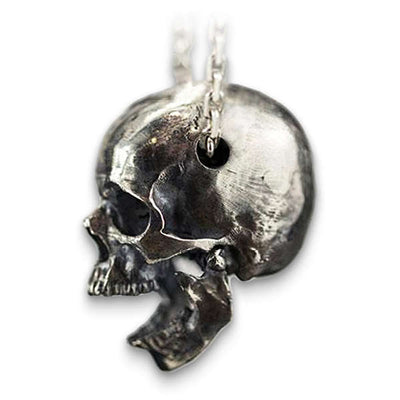 Vintage Destiny (Silver) Skull Necklace