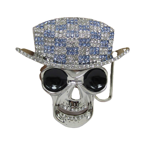 Iced Out Skull Belt Buckle | Unholy Skull