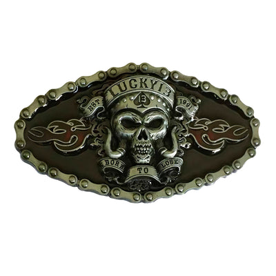 Large Skull Belt Buckle | Unholy Skull