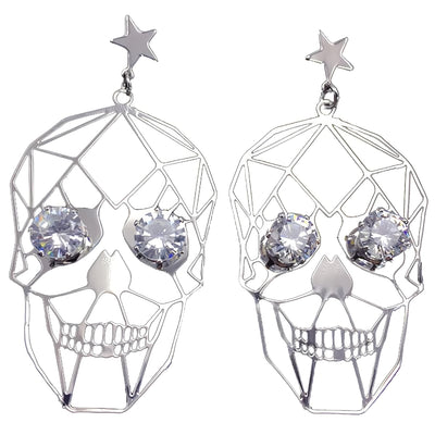 Skull Earrings for Girls