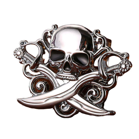 Skull Head Belt Buckle | Unholy Skull
