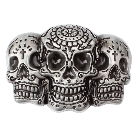 Sugar Skull Belt Buckle | Unholy Skull