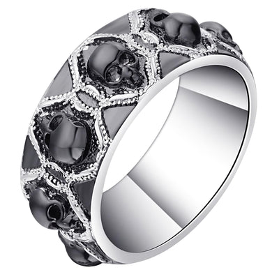 Women's Big Skull Ring