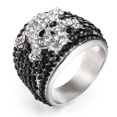 Women's Rocker Skull Ring