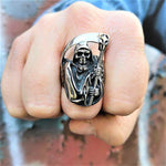 Biker Reaper Ring for Sale