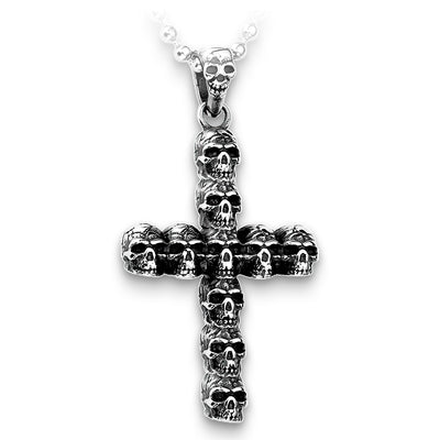 Cross Skull Necklace