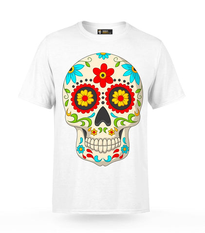 Day of the Dead Skull T-Shirt | Unholy Skull
