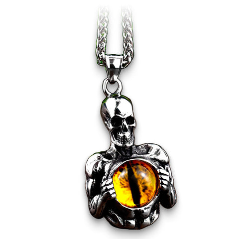 Eye Skull Necklace