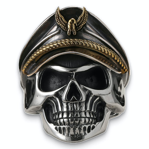 German Officer Skull Ring
