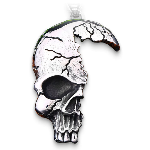 Half Skull Necklace