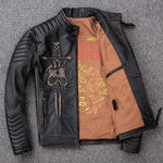 Skull Jacket (Leather)<br> Velocity Passion