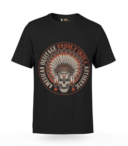 Skull Headdress T-Shirt | Unholy Skull