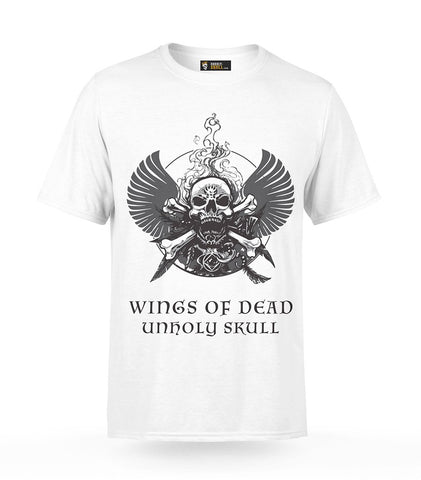Skull With Wings T-Shirt | Unholy Skull