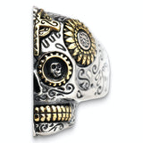 "Sugar Skull Ring <br>""The Two-Faced Mexican Woman"""