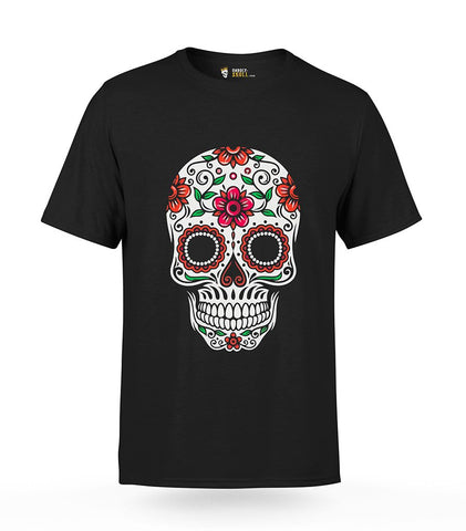 Sugar Skull T-Shirt for Mens | Unholy Skull