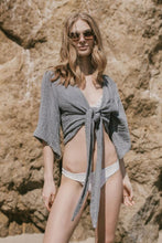Load image into Gallery viewer, Bali Wrap Top - Grey