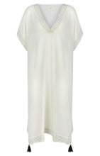 Load image into Gallery viewer, Ela Kaftan - White