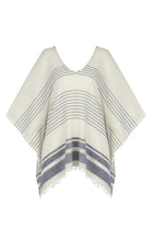 Load image into Gallery viewer, Doku Stripes Top - Blue