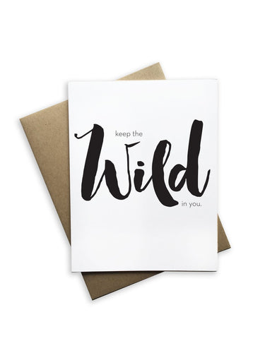 Keep the Wild Card