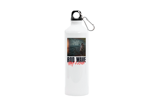 Pray 4 Wave Water Bottle + Deluxe Digital Album