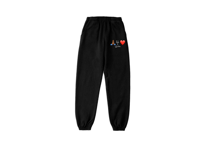 P4L Emoji Pants - Black