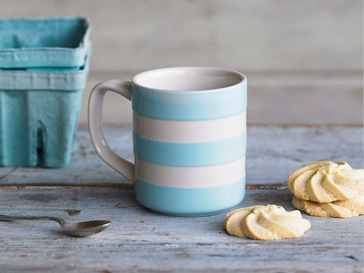 Traditional Cornishware Mugs in Various Colours
