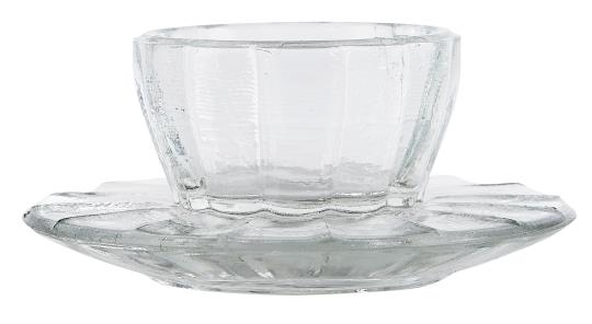 Fluted Glass Egg Cup