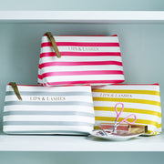 Bombay Duck Striped Make-Up Bags