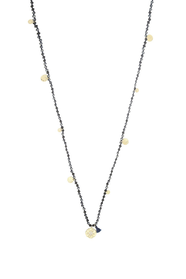 Shimmer Crystal Necklace by Ashiana