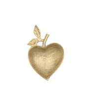 Brass Apple Trinket Dish