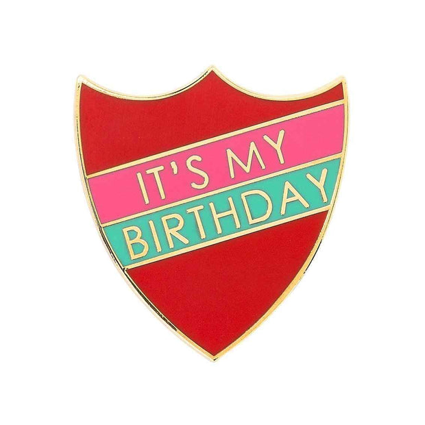 Enamel Birthday Prefect Pin