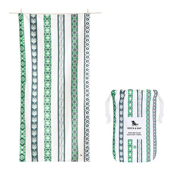 Dock & Bay Bohemian Collection Patterned Quick Dry Beach Towels