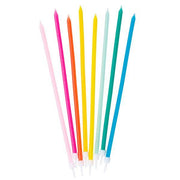 Skinny Party Colourful Candles