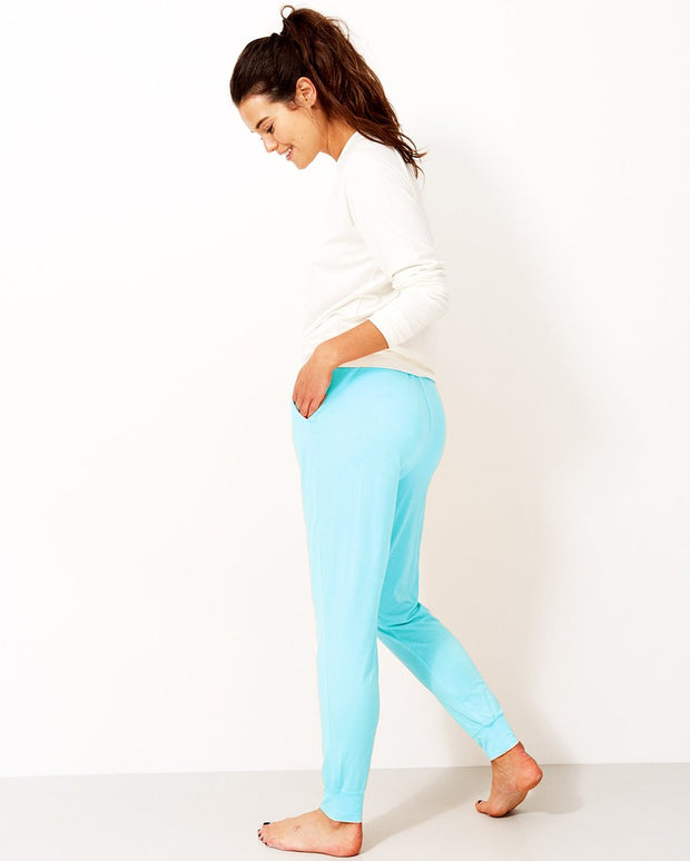 Stripe & Stare Soft Plain Coloured Lounge Pants
