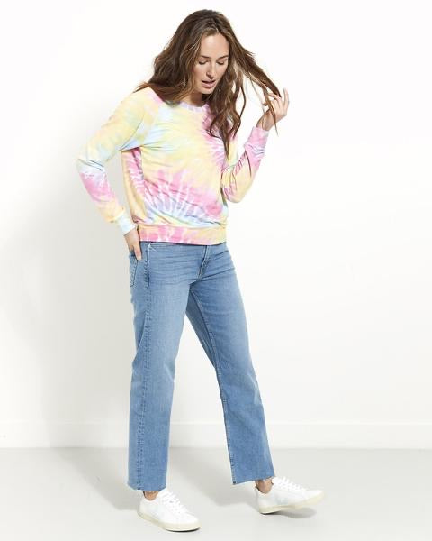 Stripe & Stare Tie Dye Super Soft Sweatshirt