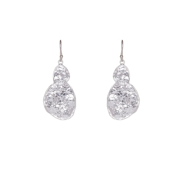 Ashiana Secret Silver Earrings