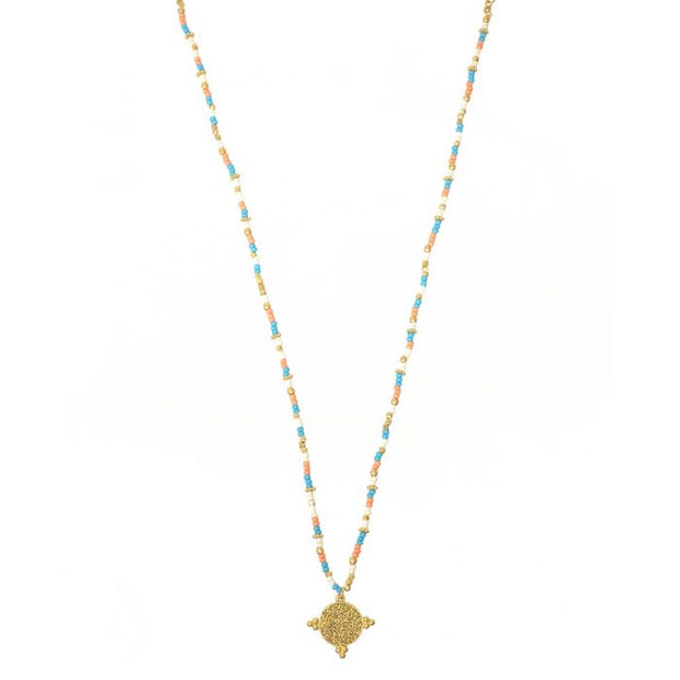 Ashiana Galapagos Necklaces in Turquoise or Coral