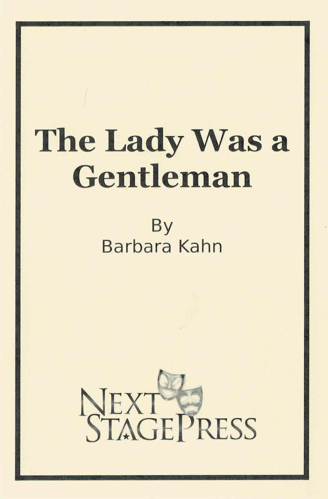 The Lady Was a Gentleman
