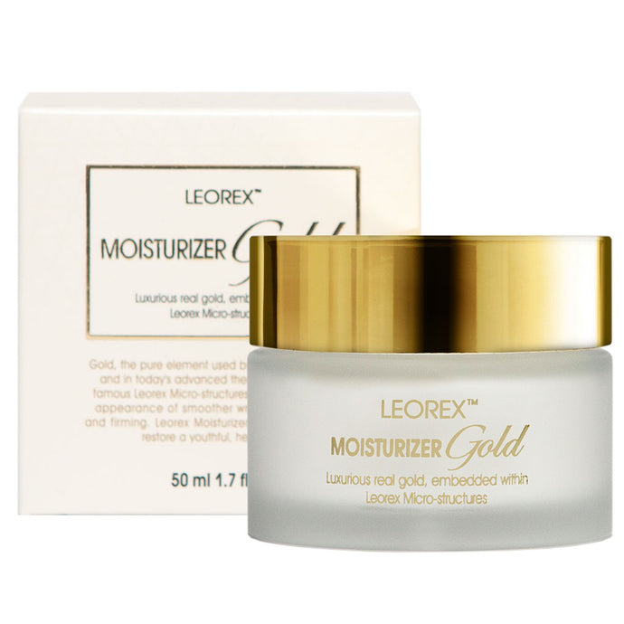 Leorex Face Moisturizer Cream - Gold Edition 50ML